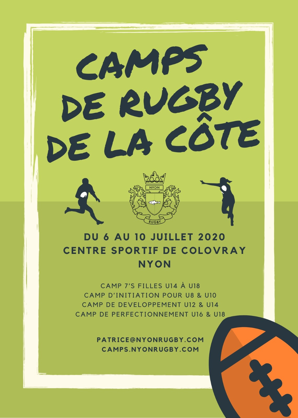 Nyon Rugby Camps 2018